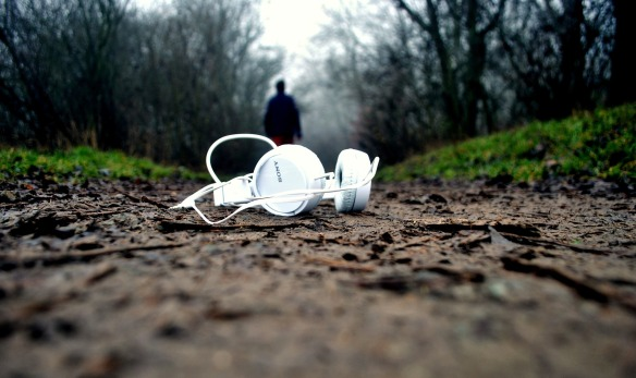 headphones-lonely-road